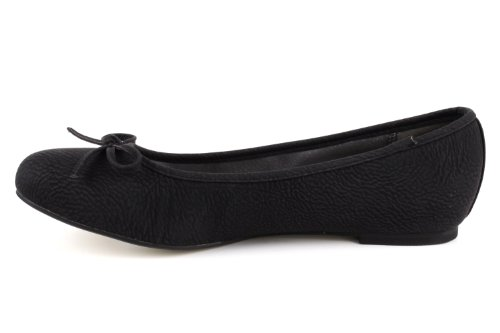 Andres Pull Black ballerines leather Machado tg104 arqaxw7S