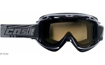 Castle Launch Snowmobile Goggles - One Size Fits Most by Castle X