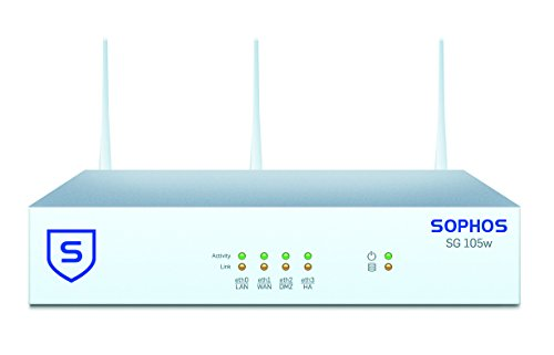 Sophos | SW1ATCHUS | UTM SG 105w (Revision 2) Security Appliance WiFi - US  Power Cord
