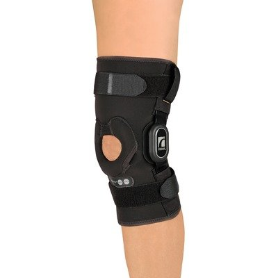 Rebound ROM Sleeve Short Knee Brace Size: Large