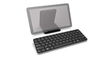Microsoft Wedge Mobile Bluetooth Negro teclado para móvil - Teclados para móviles (Negro, Mini