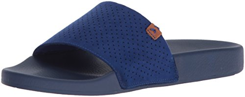 Womens Micro Scholls Sailor Palm Dr Slide Sandal Blue Perforated wH1FSqq5Z