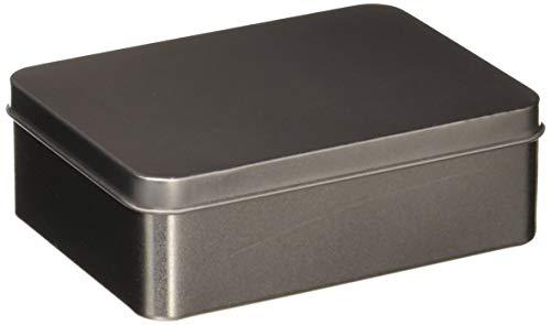 Darice 1209-97 , Unfinished Rectangular Tin Box with Lid