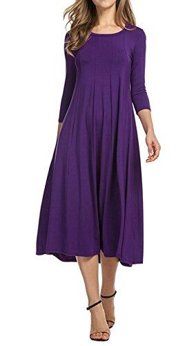 Deep Purple Dress - 8