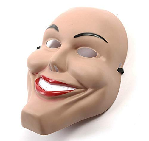 The Purge Smile Mask (Gmasking 2018 James Evil Eradicate Costume Women Smile Mask Halloween Party)