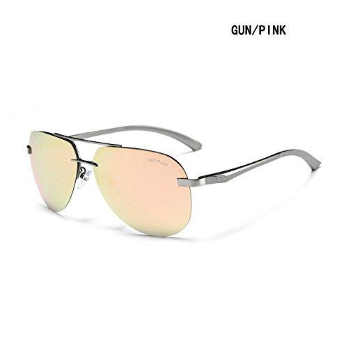 Gray Pilot Sunglasses - 9