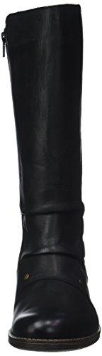 Smacking 8 Schwarz Noir Kickers Schwarz Stiefel Damen Kurzschaft fCnx7qwZ