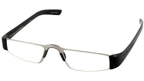 Porsche Design p8801-A Reading Tool with Clear Ophthalmic Rodenstock Lenses -- Reading Glasses; - Austrian Eyeglass Frames