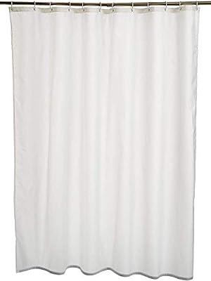 AmazonBasics - Cortina de ducha de poliéster (180 x 180 cm), color ...