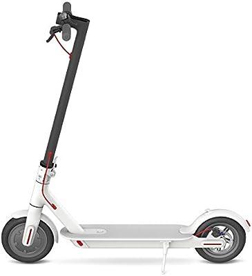 Xiaomi Mi Scooter - Patinete eléctrico plegable, 30 Km alcance, 25km/h, blanco: Xiaomi: Amazon.es: Deportes y aire libre