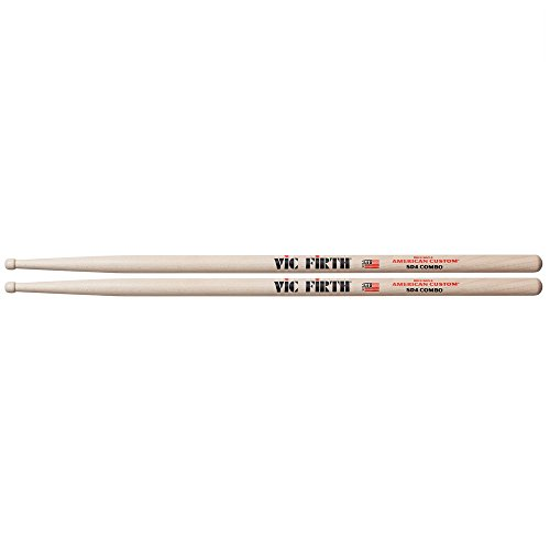 Vic Firth Drumstick, inch (SD4) American Custom Maple Drumsticks