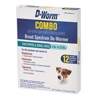 D-WORM COMBO SMALL DOG, Size: 12 PACK (Catalog Category: Dog:HEALTH CARE)