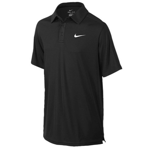 Nike Team Court Polo - Black - Large
