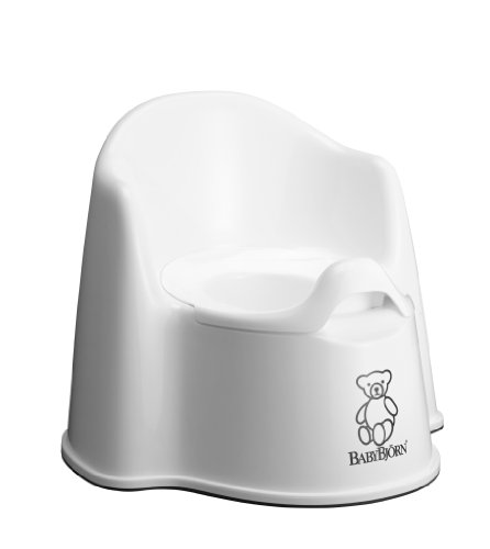 BABYBJORN Potty Chair, White