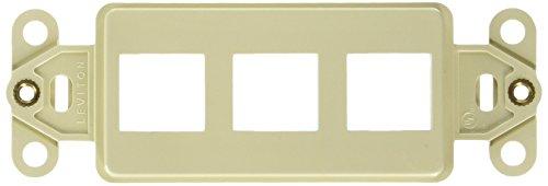 Leviton Ivory 3-Port Decora Quickport Insert 41643-I