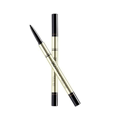 Mistine 3D Brows' Secret Eye Brow Set (3 in 1 Pencil, Shadow, Mascara) (03 Dark grey)