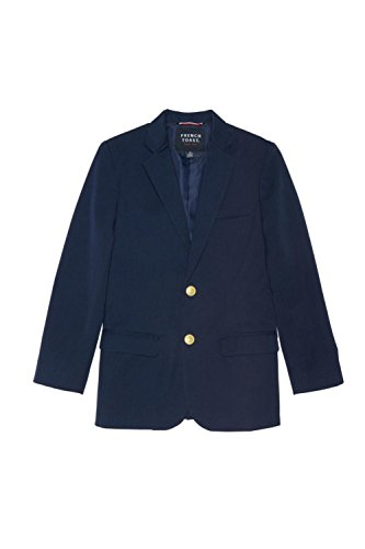 French Toast Big Boys' Classic School Blazer, Navy, 14 by French Toast