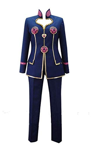 LYLAS Mens Heart-Shaped Jacket Halloween Full Set Suit