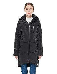 Orolay Women's Stylish Down Coat Winter Jacket with Hood