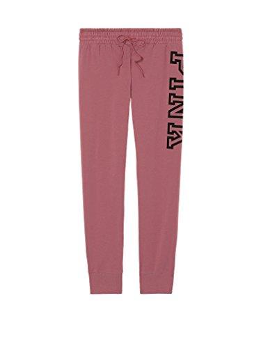Victoria's Secret Pink Gym Sweat Pants Soft Begonia Large (Sweatpants Victoria)