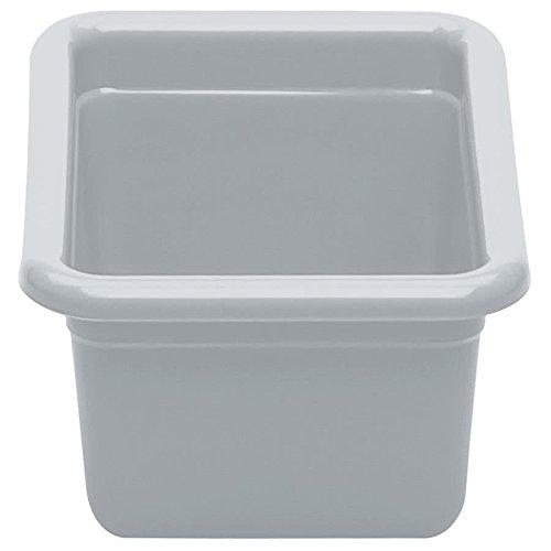 Cambro 912CBP180 12'' x 9'' x 5'' Light Gray Polyethylene Plastic Utility Box