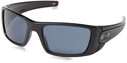 - Oakley Men's Fuel Cell Rectangular Sunglasses, Polished Black, 60 mm