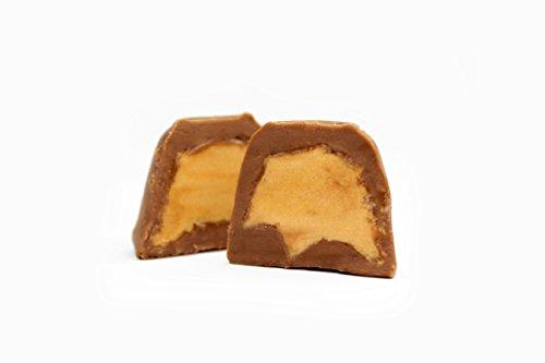 Bombones de chocolate rellenos de turrón de Jijona con denomiación de origen, 150 gramos: Amazon.es: Alimentación y bebidas
