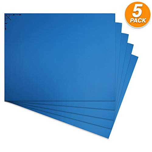 Blue Poster Board - Emraw Poster Board Lightweight Craft Backing