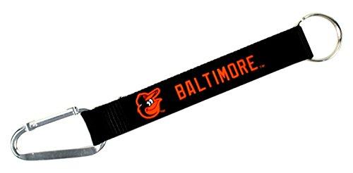 MLB Baltimore Orioles Carabiner Lanyard Keyring