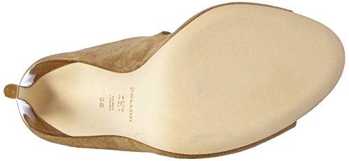 Pollini San.lod.lo Pk21/105 Castoro - Sandalias de tacón Mujer Avellana