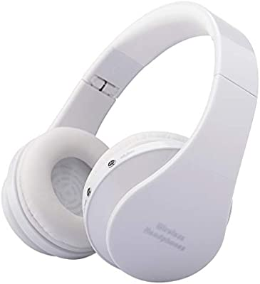 SamMoSon 2019 Auriculares Bluetooth Inalambricos Estereo Bluetooth,Kubite Plegable con Micrófono Auriculares Plegables para DJ Auriculares De Juego con ...