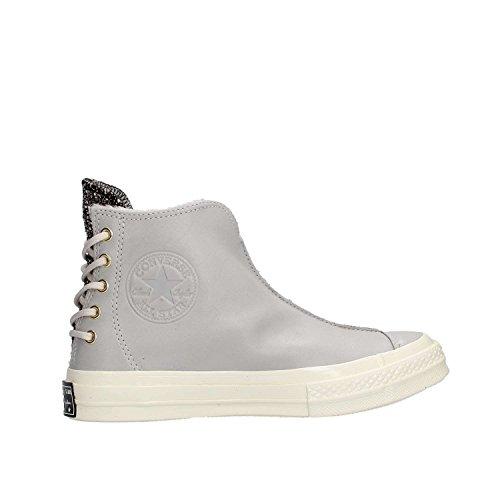 Converse Ctas 70 Punk Boot Hi Sneakers Grigio Bianco 157624C - 36, Grigio
