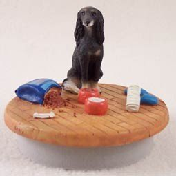 (Conversation Concepts Miniature Saluki Candle Topper Tiny One