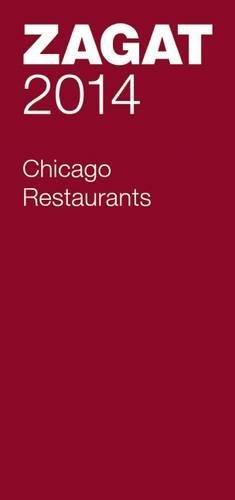 2014 Chicago Restaurants (Zagat)