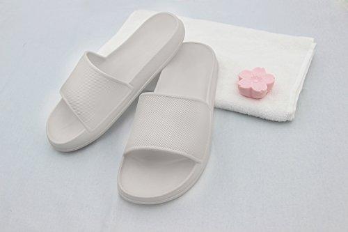 Shoes Couples Sandal slip Grey Slippers Anti Men Women's House Bathroom Indoor Unisex xqnF0p7R7t