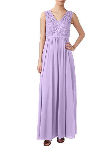 A Brautmutterkleider Marie Rock Braut Lang Lilac Partykleider Linie La Abendkleider Spitze Attraktive Chiffon zAqYHq