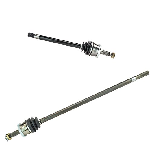 Front CV Joint Axle Shaft Pair Set for 99-04 Grand Cherokee w/Quadra Drive 4WD (Tail Set Shaft)