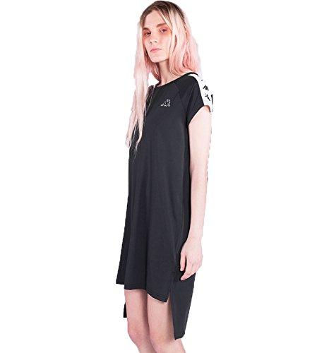 Aurion Kappa Damen Kleid weiß schwarz 222 nbsp;Band 1BPf1r