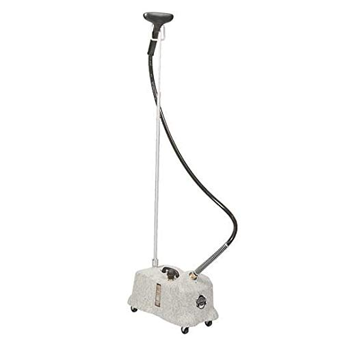 Jiffy Pro-Line Series Commercial Clothing Steamer in Gray with Steam - Metal Carpet Jiffy Steamer