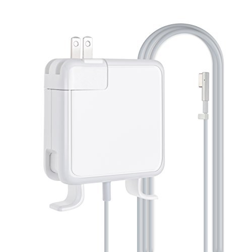 Macbook Air Charger, YJYUS 45W Magnetic Laptop Power Charger AC Adapter for MacBook Air 11'' 13'' [until Summer 2012 Models] (14.5V 3.1A)(45W-M1) by YJYUS