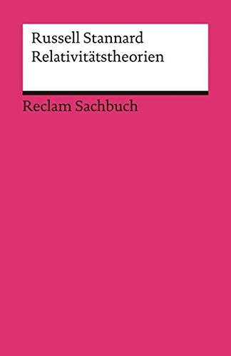 Relativitätstheorien  Reclams Universal Bibliothek