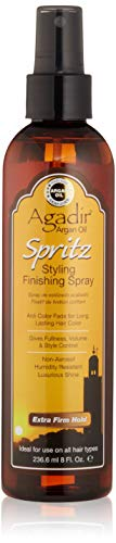 AGADIR Argan Oil Spritz Styling Finishing Spray, 8 oz