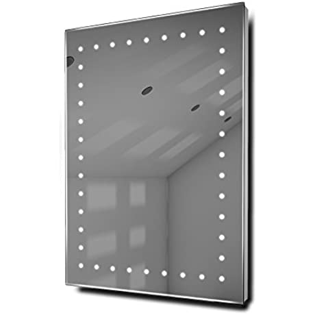 Fuji Ultra Slim LED Bathroom Illuminated Mirror With Demister Pad Sensor K168