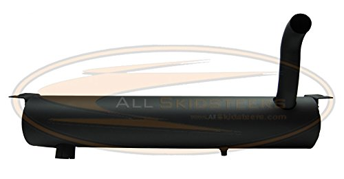 Insulated Spark Arrestor Muffler for Bobcat Skid Steer Loaders A- 7100840 by AllSkidsteers,inc.