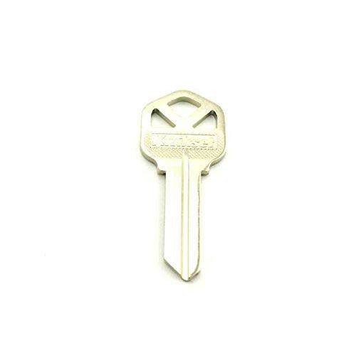 Kwikset Original Key Blank Nkl Platd Brs Bag Of 10 ()