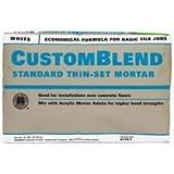 Custom Building Products CBTSW50 50 Lb White Custom Blend Thin-Set Mortar