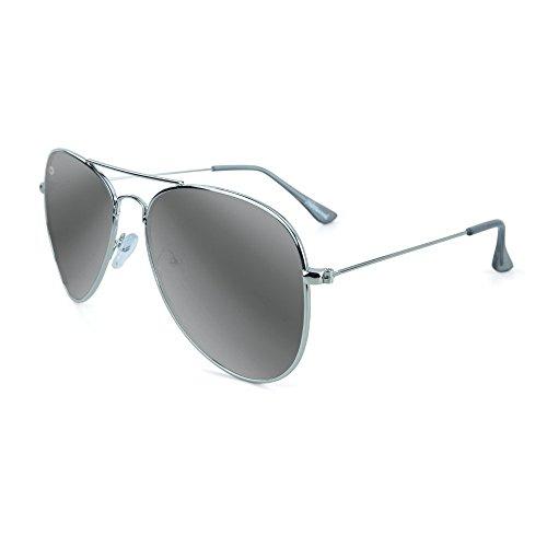Smoke Silver Polarized Silver Mile Knockaround Highs Sunglasses IZqfWY6