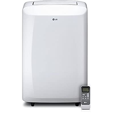 LG 10,000 BTU 115V Portable Air Conditioner with Remote Control, White