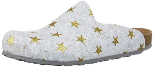 Bayton Women's Chatel Clog Ice/Gold Star