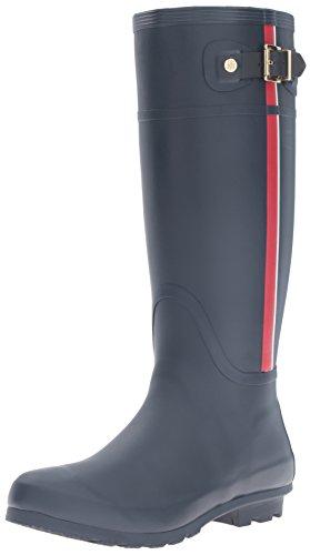 Malva Hilfiger Tommy Rain Boot Navy Women's Eaxq0